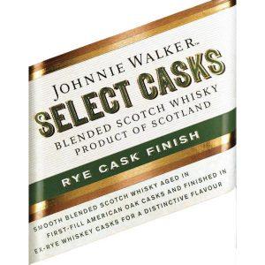 Johnnie Walker Select Casks Rye Cask Finish