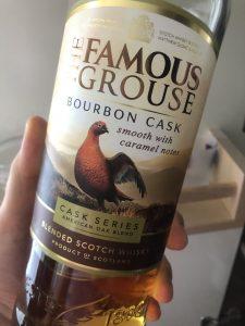 Famous Grouse Bourbon Cask tadım notu